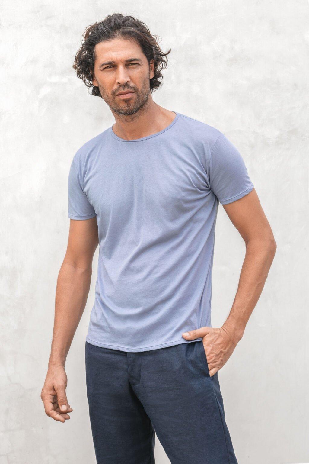 NUBE pima cotton crewneck teeshirt