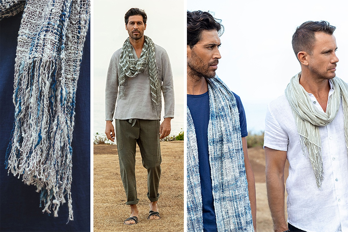 Artisanal Handwoven Scarf  Collection