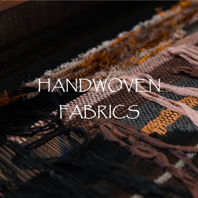 Artisanal Handwoven Fabric